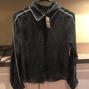 Forever 21 Tops - New Forever 21 arrow print button down top blouse